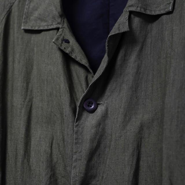 COMOLI(コモリ)のOUTIL MANTEAU UZES ARCH TOKYO メンズのジャケット/アウター(ステンカラーコート)の商品写真