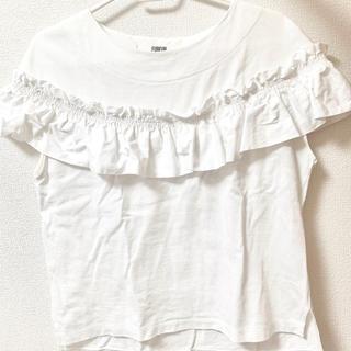 ファーファー(fur fur)のtシャツ フリル 古着 レディース 個性的(Tシャツ(半袖/袖なし))