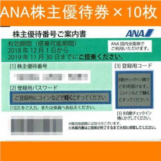 ANA 全日空 株主優待 株主優待券 割引券 5枚セット