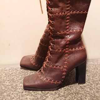 ドルチェアンドガッバーナ(DOLCE&GABBANA)のドルガバ ロングブーツ(ブーツ)