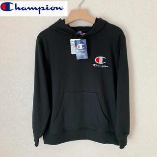 Champion - 【新品正規品】チャンピオン筆記体 ロゴパーカー ブラック160cm