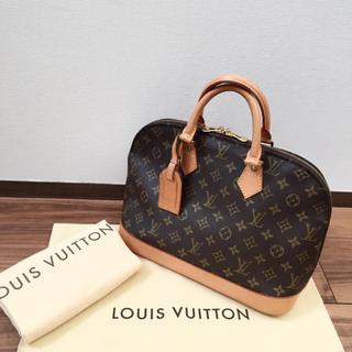 LOUIS VUITTON - 【極美品 ネームタグ 保存袋付き】正規品 ルイヴィトン アルマ ハンドバッグ