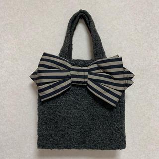 Chesty - MUGUET ミュゲ チェスティ fluffy グレー Ribbon Bag