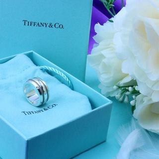 ティファニー(Tiffany & Co.)の☆新品☆未使用☆Tiffany&Co. ティファニー ラインリング11号(リング(指輪))