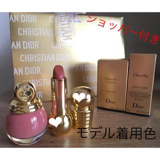Christian Dior - ディオール クリスマス限定品 ♡チャーム♡ リップ&ネイル ギフトセット♡