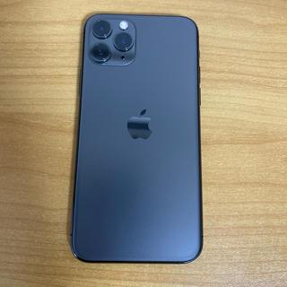 iPhone - 最安値 au iPhone 11 Pro 64GB スペースグレー 送料無料