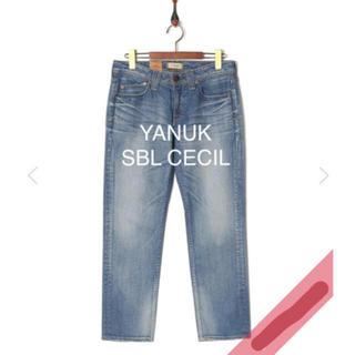 ドゥーズィエムクラス(DEUXIEME CLASSE)の極美品 YANUK SBL CECIL 24(デニム/ジーンズ)