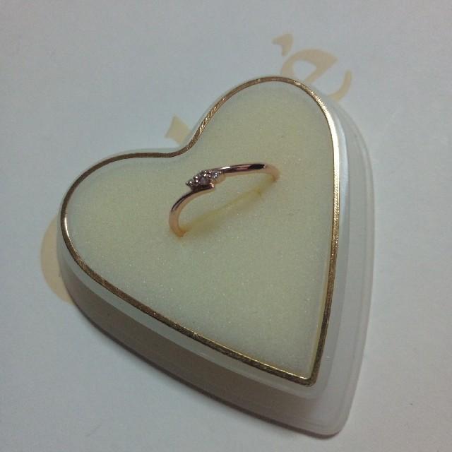 THE KISS(ザキッス)のmiku様専用ページ再再値下げ!THE kissダイヤモンドリング11号 レディースのアクセサリー(リング(指輪))の商品写真