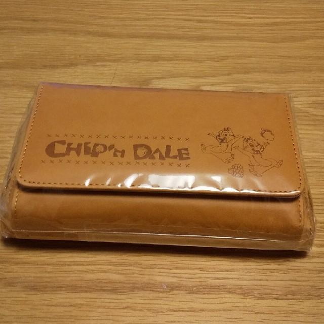 チップ&デール(チップアンドデール)のチップとデール お財布バッグ ウォレット ディズニー ななめがけ スマホ入る  レディースのファッション小物(財布)の商品写真