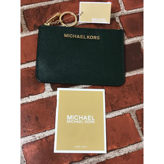 Michael Kors - マイケルコース iDケース カードケース 新品未使用 即日発送