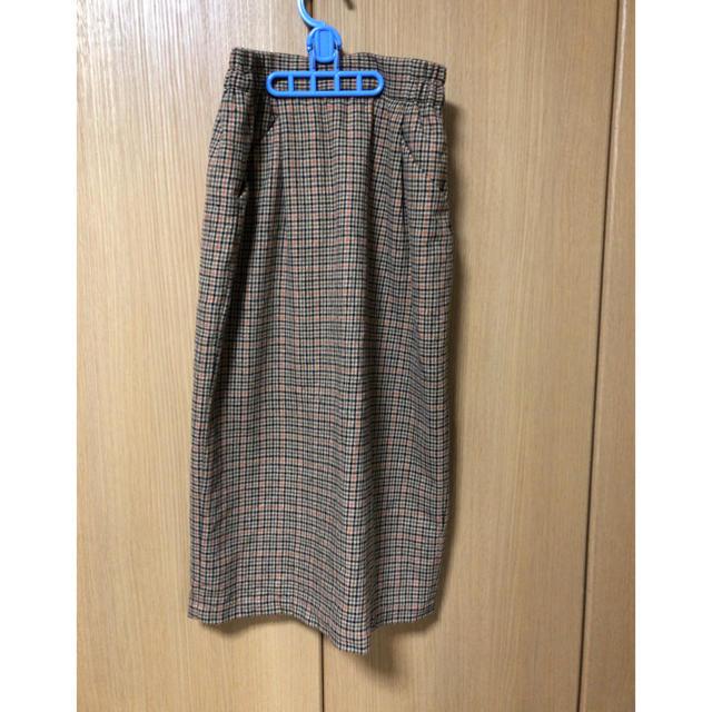 LOWRYS FARM(ローリーズファーム)のウールコンタイトスカート レディースのスカート(ひざ丈スカート)の商品写真