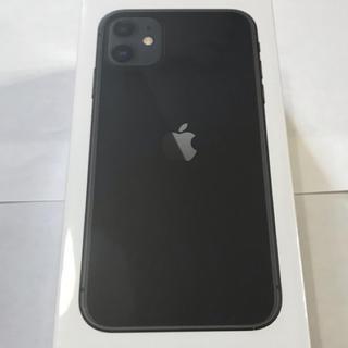 Apple - iPhone11 simフリー 128GB 新品未使用 black