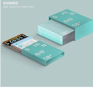 シャイニー(SHINee)のSHINee2018シーズングリーティング 新品(K-POP/アジア)