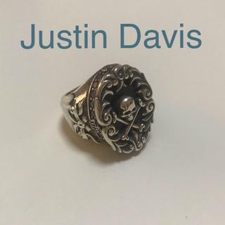 ジャスティンデイビス(Justin Davis)のジャスティンデイビス JustinDavis リング 指輪 スカル シルバー(リング(指輪))