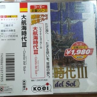 コーエーテクモゲームス(Koei Tecmo Games)の大航海時代3(PCゲームソフト)