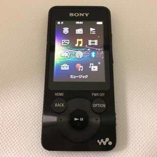 SONY - SONY ウォークマン NW-S785 16GB 黒 スピーカー イヤフォン付属