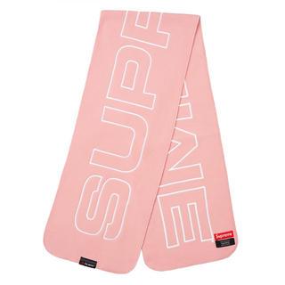 シュプリーム(Supreme)のSupreme Polartec Logo Scarf ポーラーテック スカーフ(バンダナ/スカーフ)