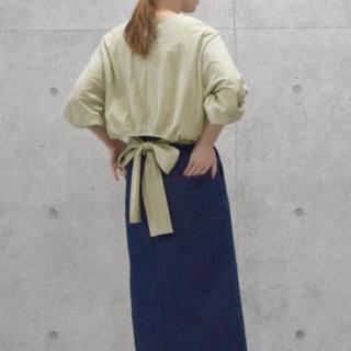 ダブルクローゼット(w closet)のバックリボントップス (Tシャツ(長袖/七分))