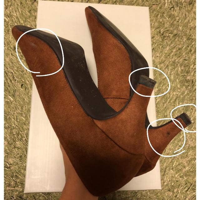 Rope' Picnic(ロペピクニック)のロペピクニック ブラウン パンプス レディースの靴/シューズ(ハイヒール/パンプス)の商品写真