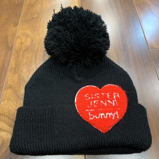 ジェニィ(JENNI)のシスタージェニー ニット帽 黒 ジェニー(帽子)
