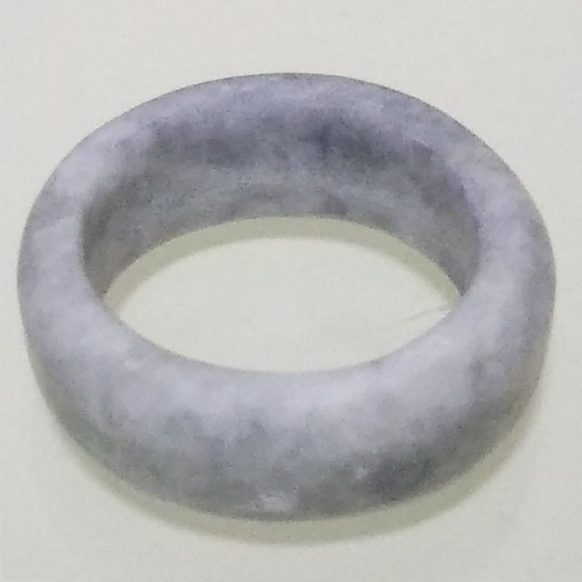 No.0319 硬玉翡翠の指輪 ◆ 糸魚川 青海産 ラベンダー ◆ 天然石 レディースのアクセサリー(リング(指輪))の商品写真
