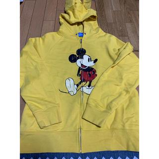Disney - DisneyRESORT(ディズニー)ミッキー耳付ジィップUPスウェットパーカー
