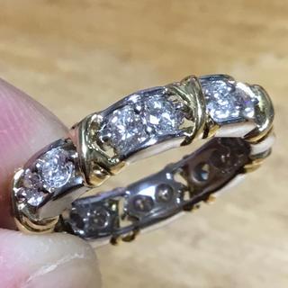 美麗✨キラッキラッ✨ダイヤモンドリング✨指輪✨9号✨フルエタニティ✨プラチナ