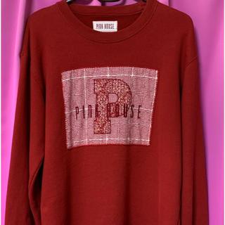 ピンクハウス(PINK HOUSE)のピンクハウス♡赤のトレーナー(トレーナー/スウェット)