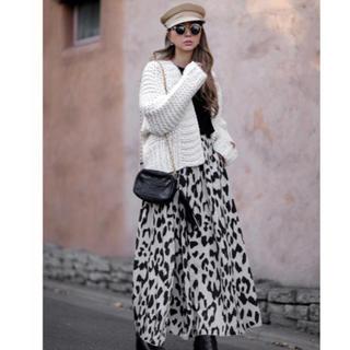 room306 CONTEMPORARY -  Animal Pattern Maxi Skirt