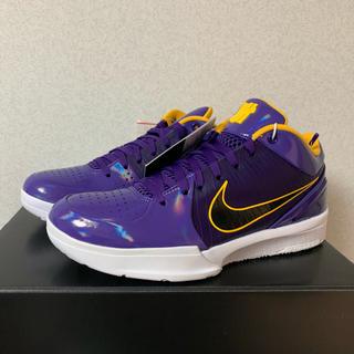 NIKE - 新品 Kobe 4 Protro Undefeated  Lakers 26.5
