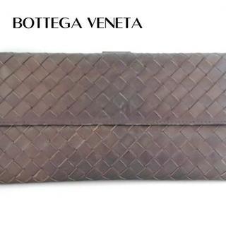 Bottega Veneta - ボッテガヴェネタ 長財布 イントレチャート 134075 ダークブラウン
