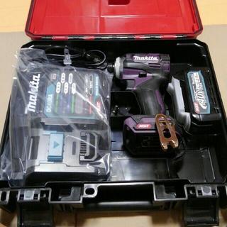 Makita - 【マキタ】TD001G 40Vインパクトドライバー&バッテリー&充電器&ケース