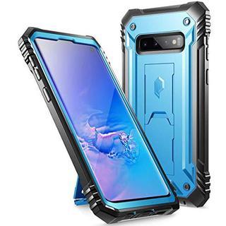 Galaxy 専用 S10 ギャラクシーs10 ブルー ケース カバー