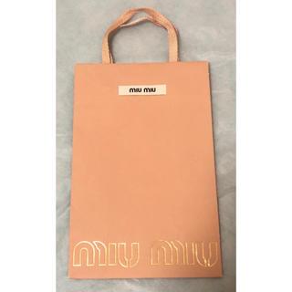 ミュウミュウ(miumiu)のmiumiu ショップ袋(ショップ袋)