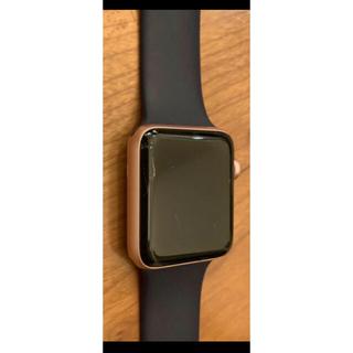 アップルウォッチ(Apple Watch)のApple Watch series2 42mm ピンクゴールド iPhone(腕時計(デジタル))