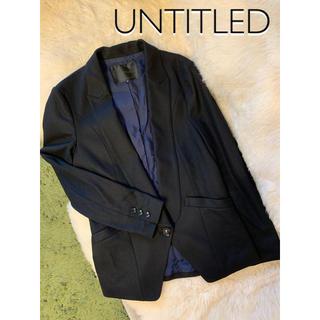 アンタイトル(UNTITLED)のアンタイトル テーラード ジャケット ウール 日本製 3(テーラードジャケット)