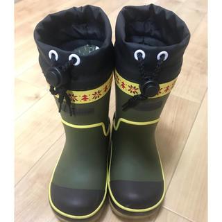 ムーンスター(MOONSTAR )のムーンスター 長靴 男の子 冬用 レインスノーブーツ 16センチ(長靴/レインシューズ)