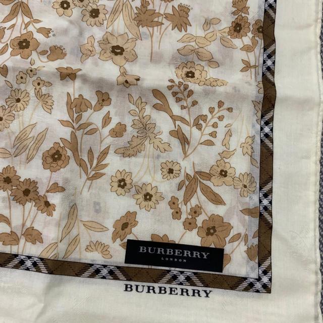 BURBERRY(バーバリー)の新品 バーバリー  ハンカチ ④ レディースのファッション小物(ハンカチ)の商品写真
