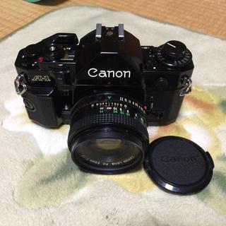キヤノン(Canon)のキヤノン A-1 レンズおまけです(フィルムカメラ)