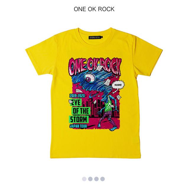 ONE OK ROCK(ワンオクロック)のONE OK ROCK Eye of the storm 2019 メンズのトップス(Tシャツ/カットソー(半袖/袖なし))の商品写真