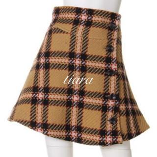 snidel - 美品♡ウールフレアスカート