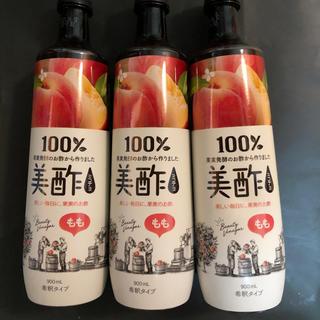 コストコ - ミチョ 美酢 もも 3本セット 韓国 新品未開封