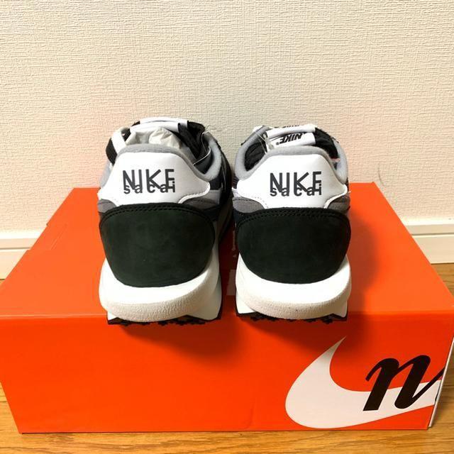 NIKE(ナイキ)のNike LD Waffle Sacai Black Anthracite レディースの靴/シューズ(スニーカー)の商品写真