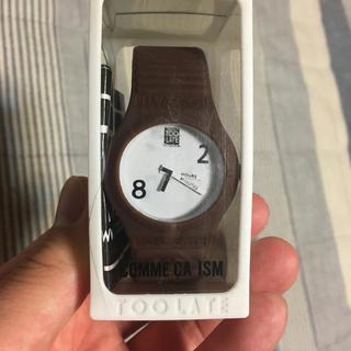 コムサイズム(COMME CA ISM)のコムサイズム  シリコン  腕時計(腕時計(アナログ))