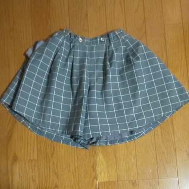 GU(ジーユー)のキュロット スカート キッズ/ベビー/マタニティのキッズ服 女の子用(90cm~)(スカート)の商品写真