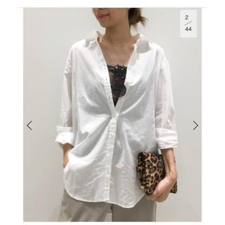 L'Appartement DEUXIEME CLASSE - アパルトモン コットンローンシャツ