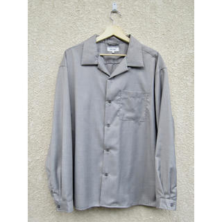 【vintage】silver open-collared shirt(シャツ)