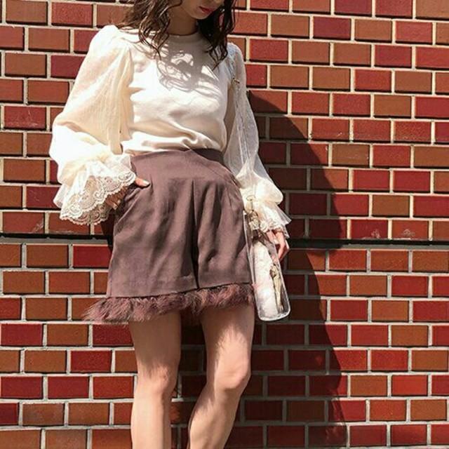 one after another NICE CLAUP(ワンアフターアナザーナイスクラップ)のマラボーショートパンツ レディースのパンツ(ショートパンツ)の商品写真