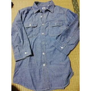 ユニクロ(UNIQLO)の七分袖 デニムシャツ(シャツ)