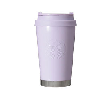 Starbucks Coffee - スターバックス  パールラベンダー パープル ステンレス タンブラー